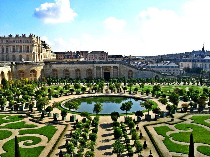 Le Jardin Du Chateau De Versailles From Paris To Ljubljana By Gagi