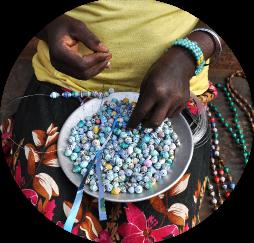 paper-bead-making