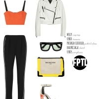 LOOKS OF THE DAY / MODERN MONOCHROME