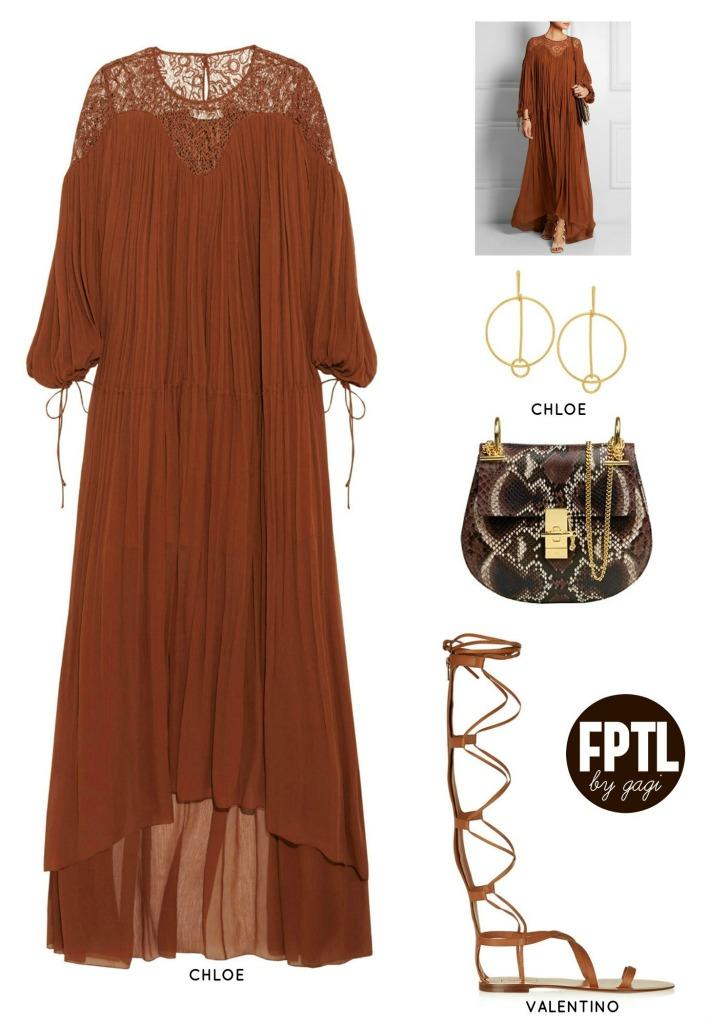 TONAL DRESSING BROWN 2