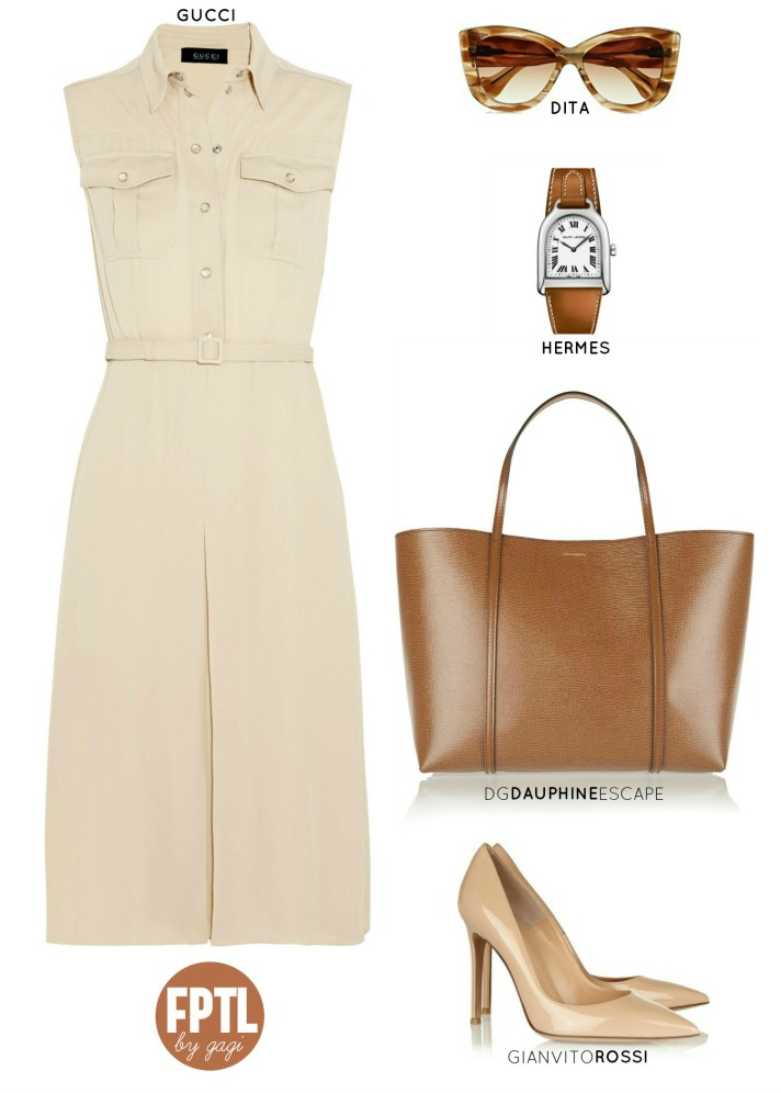 TONAL DRESSING BROWN 5